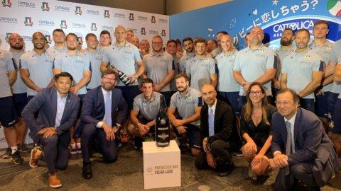 Mondiale rugby, Cattolica promuove l'amicizia Italia-Giappone