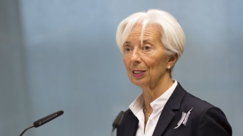 "Lagarde: ""Bce manterrà politica monetaria espansiva"""