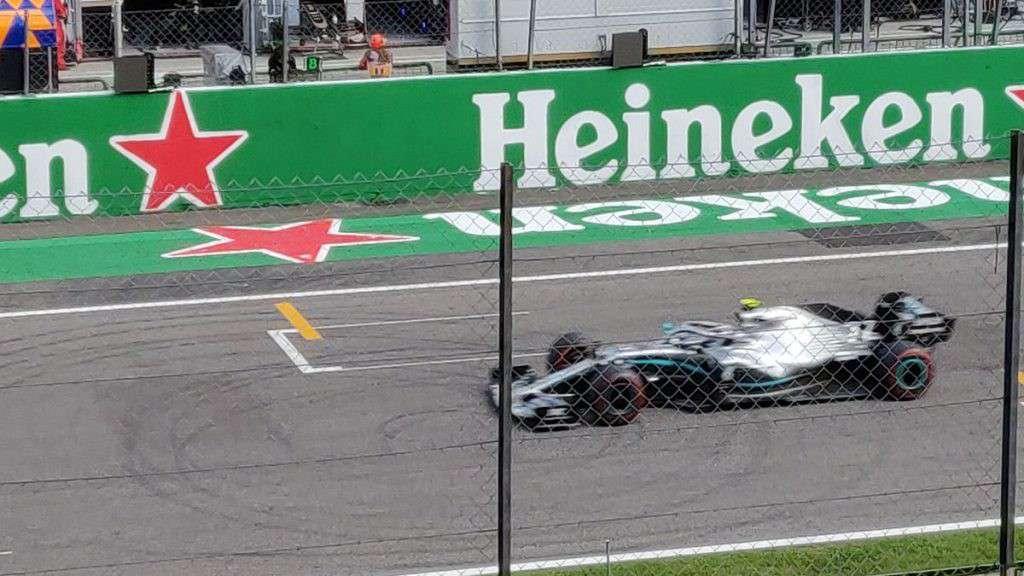 La Mercedes di Valtteri Bottas