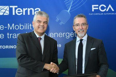 Terna e Fca: al via le prove su auto elettrica e rete