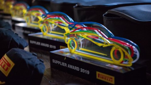 Supplier Award, Pirelli premia i propri fornitori