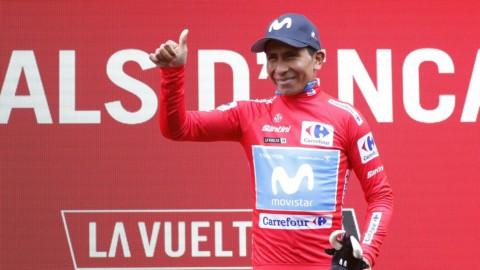 Vuelta: quattro big in 20 secondi, Aru fuori dai giochi