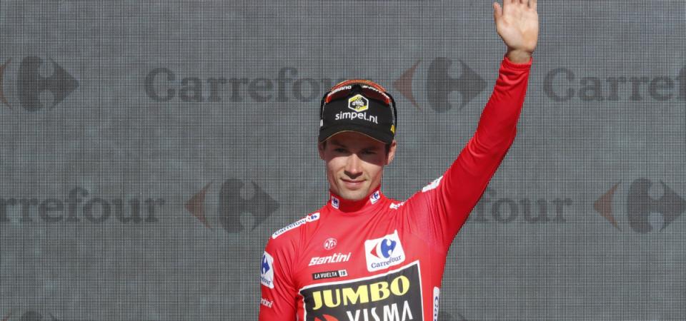 Vuelta: Roglic vince la crono e conquista la maglia rossa