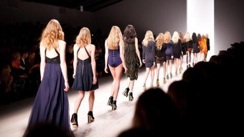 Milano Fashion Week: sfilata Next Trend in banca