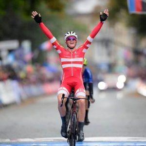 Mondiali ciclismo: Trentin beffato da Pedersen