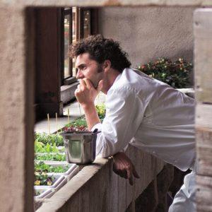Stefano Baiocco, la sua insalata brilla fra le stelle