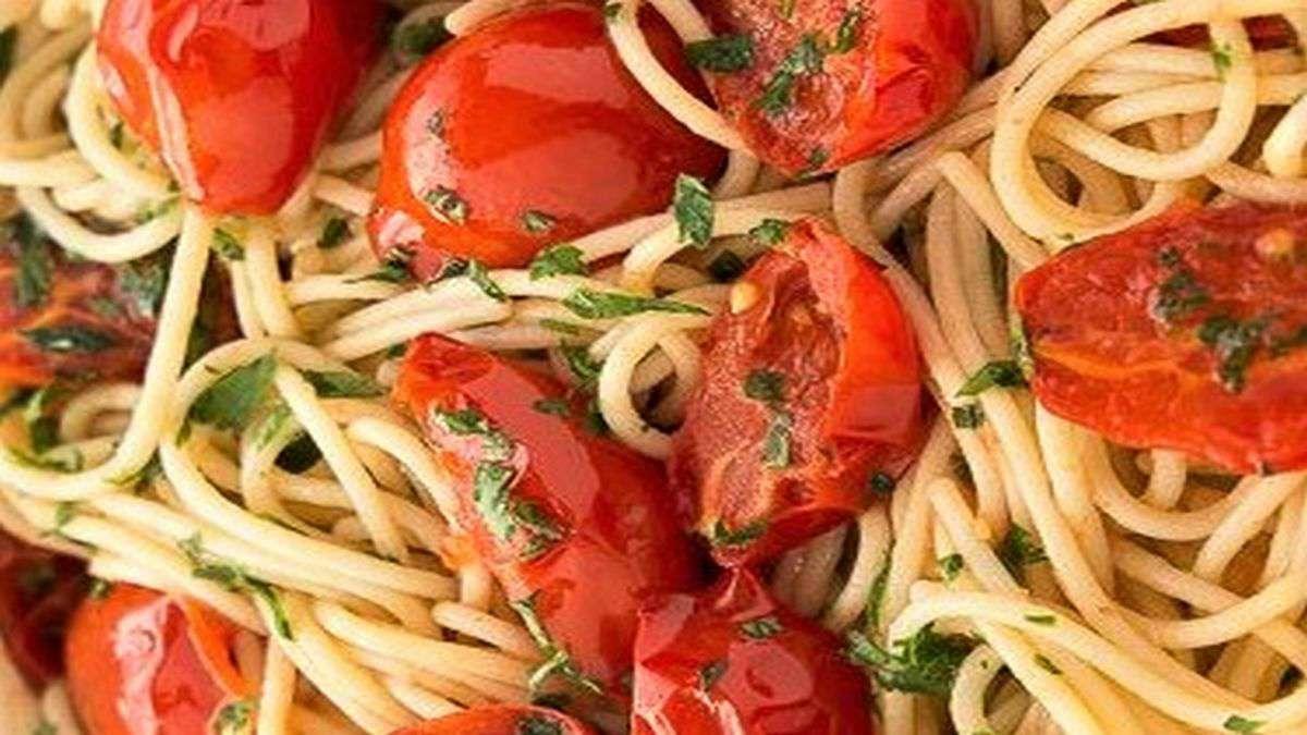 spaghetti vongole fujute con corbarini