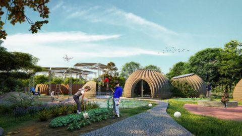 Tecla, a Ravenna la casa in 3D ispirata alle vespe vasaio