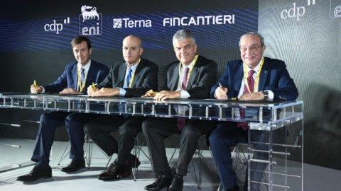 Cdp, Terna, Fincantieri, Eni: insieme per l'energia dal mare