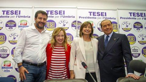 Umbria, elezioni: il centrodestra trionfa