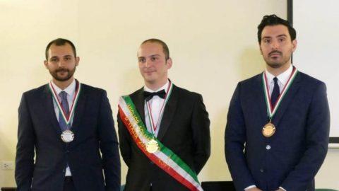 Mattia Cianca miglior sommelier d'Italia ASPI 2019