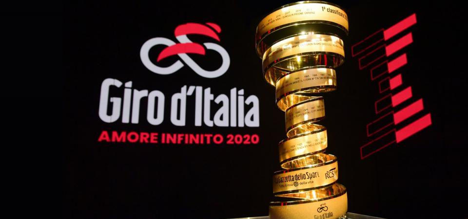 Giro 2020: partirà da Budapest il 9 maggio