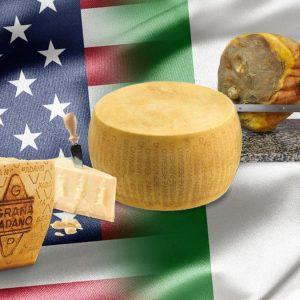 Dazi Usa-Ue al via: maxi tariffe per parmigiano e pecorino