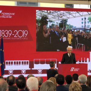Ferrovie dello Stato festeggia 180 anni della Napoli-Portici