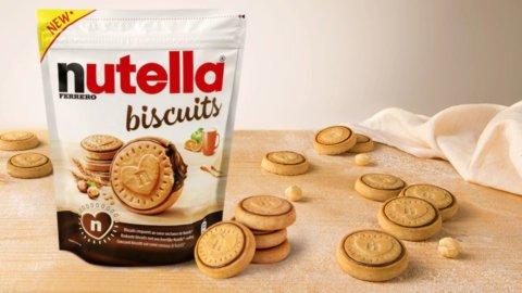 Ferrero sfida Mulino Bianco: nasce il biscotto alla Nutella