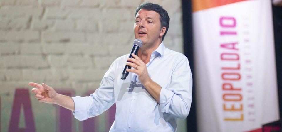 """Renzi: """"E' Macron il modello di Italia Viva"""""""