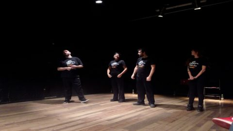 JAM a'MANGE', Roman nights of Theatrical Improvisation