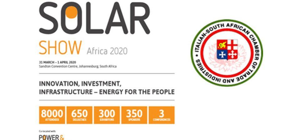 Rinnovabili, aziende italiane in Sudafrica per il Solar Show
