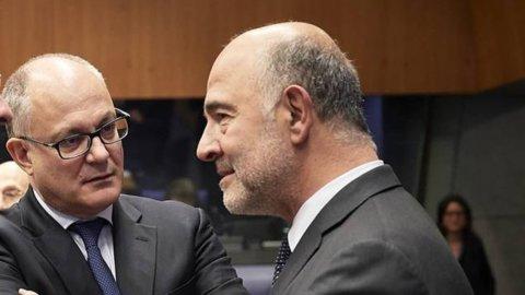 Ue pessimista su Italia: Pil +0,4% nel 2020 e il debito sale