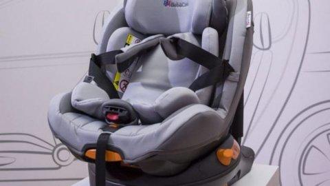 Trasporto dei bambini in auto, cosa dice il regolamento