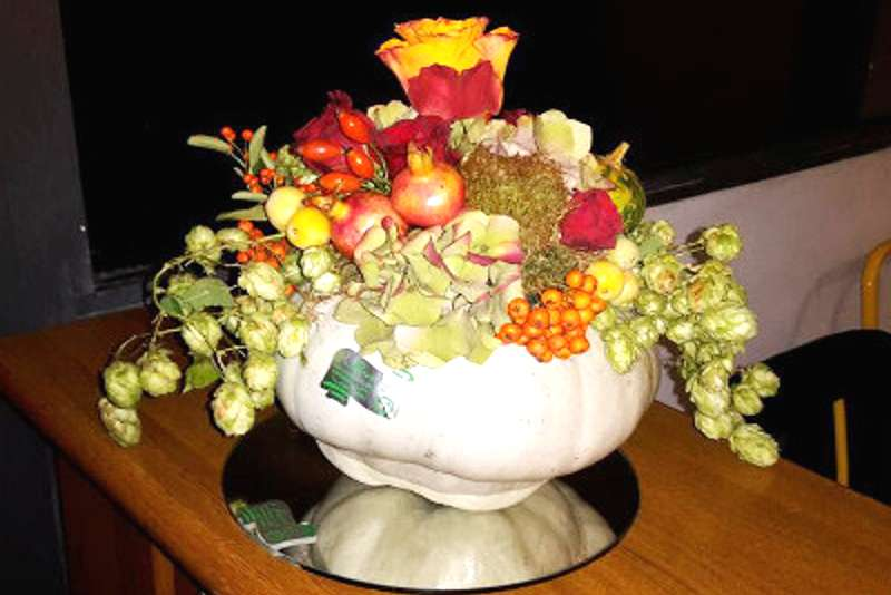 zucca berfrettina floreale
