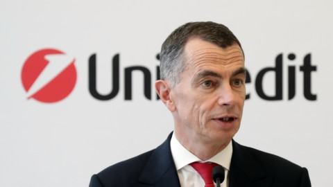 Jean Pierre Mustier, Ceo di Unicredit