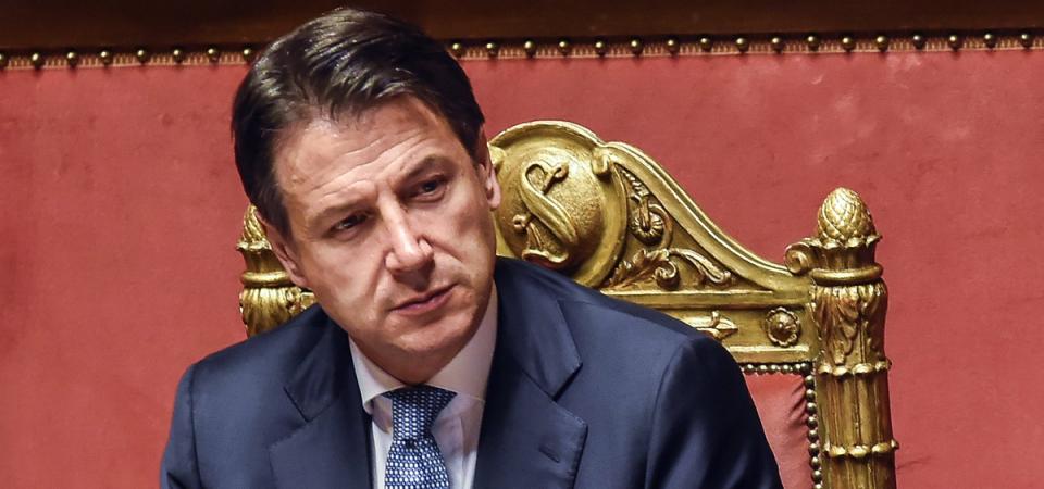 """Mes, Conte a Salvini: """"Chi vuole uscire dall'euro lo dica"""""""