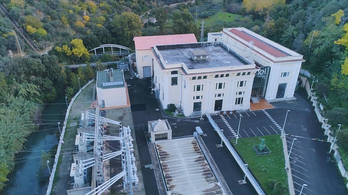 Centrale idroelettrica Enel Green Power di Acquoria, vicino Tivoli