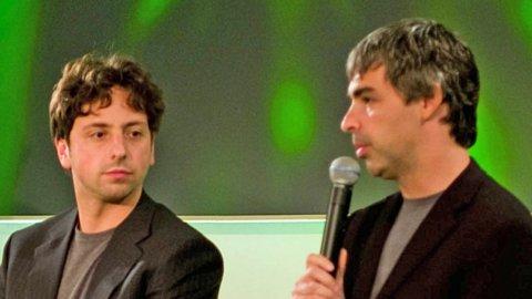 Rivoluzione Google: Page e Brin lasciano Alphabet