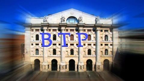 Asta Btp: il Tesoro fa il pieno, tassi in risalita sul 3 anni