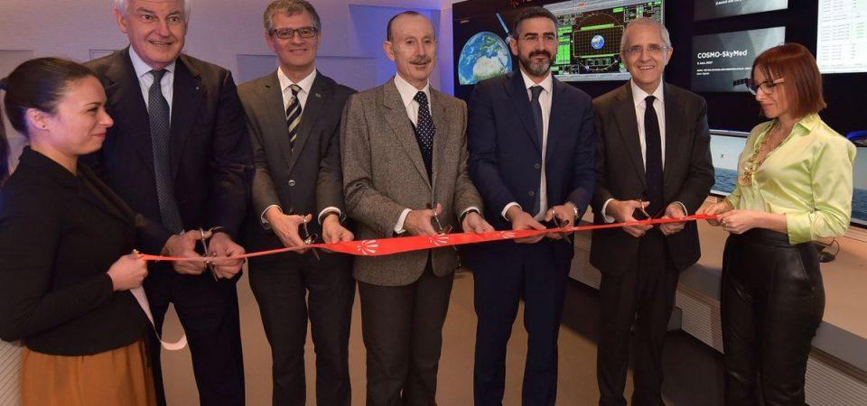 Leonardo, nuova sala di controllo satelliti al Fucino