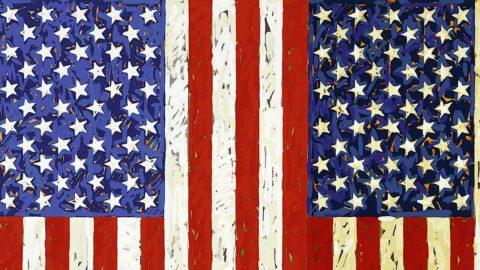 Jasper Johns, in mostra bandiere americane da 1 milione di dollari