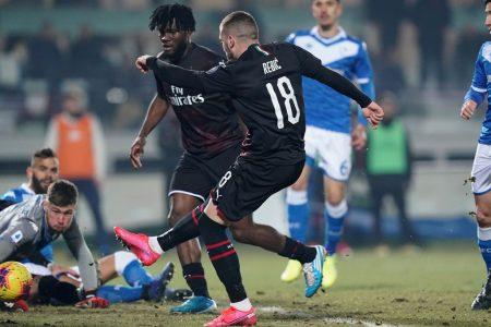Il Milan espugna Brescia ed è sesto, in piena zona Europa