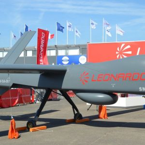 Leonardo, la prima del drone Falco Xplorer: VIDEO