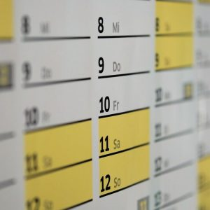Calendari, non per tutti questo è l'anno 2020