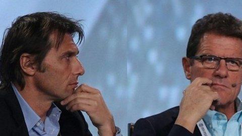 Calcio, Conte e Capello ai ferri corti: il contropiede è  tabù