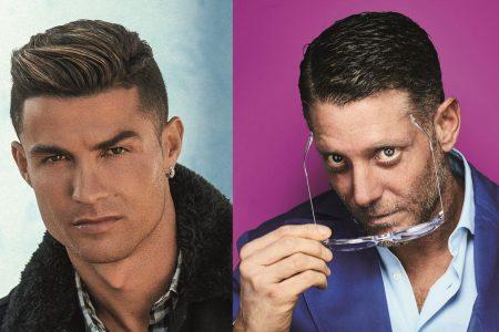 Ronaldo e Lapo Elkann lanciano linea di occhiali CR7