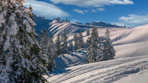Meteo: Pasquetta con la neve, torna l'inverno