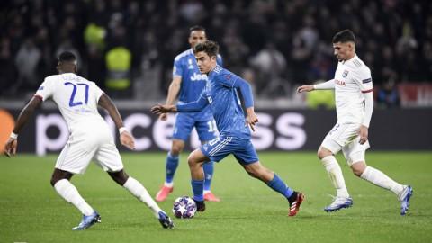Champions: la Juve di Sarri delude ancora, il Lione festeggia