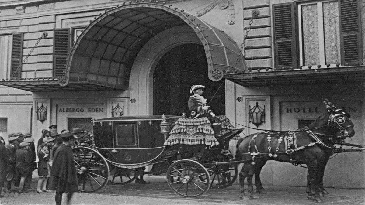 Ospiti illustri arrivano all'Eden nel 1890