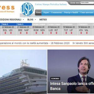 Editoria, accordo tra Uspi e Italpress