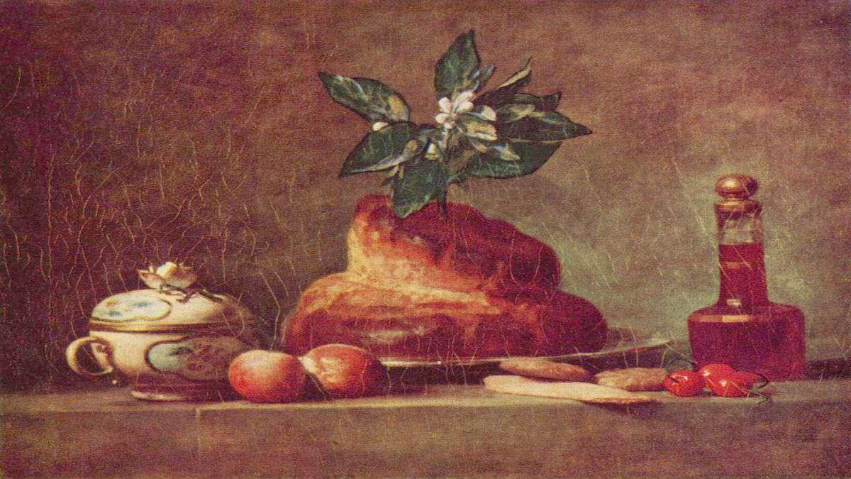 Jean Simeon Chardin, La Brioche 1763.