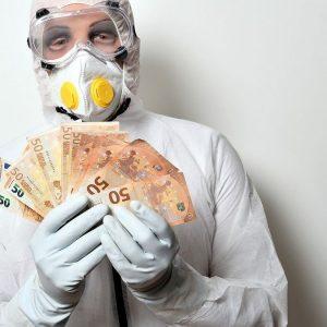 Coronavirus: Antitrust contro sciacalli di maschere e disinfettanti