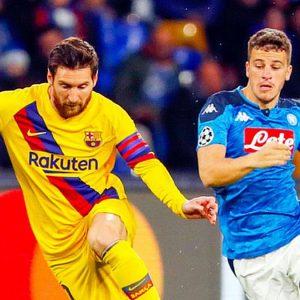 Champions: il Napoli ferma Messi, oggi Juve a Lione