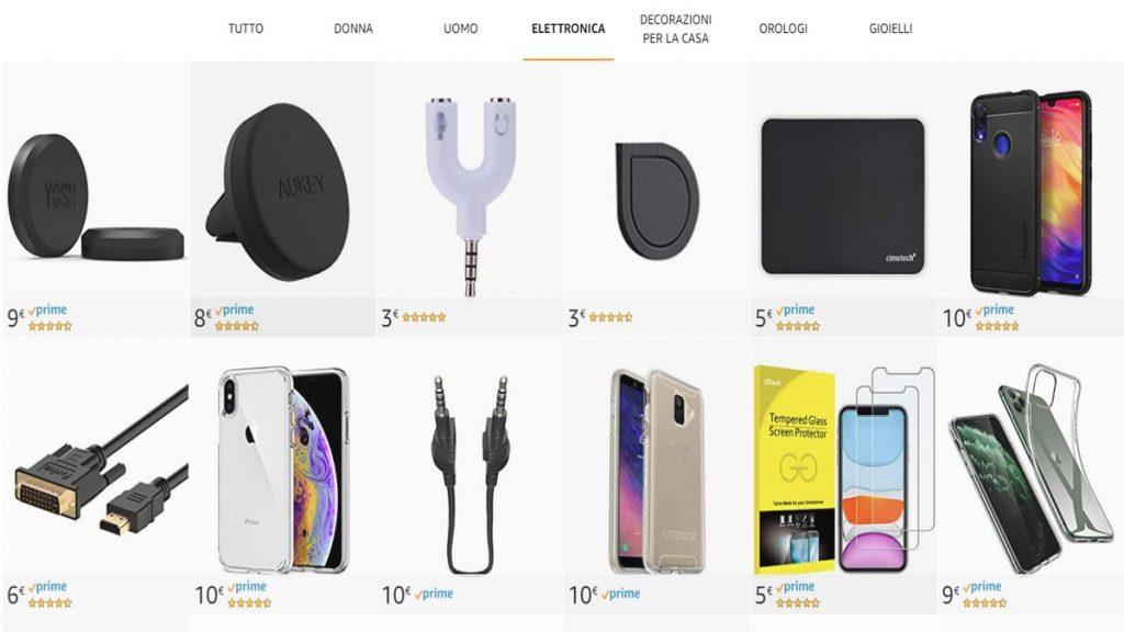 Prezzi elettronica online