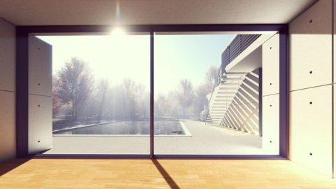 Sole, finestra
