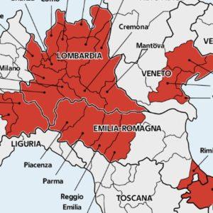 Chiuse Lombardia e 14 province: ecco quali. Zingaretti positivo al test