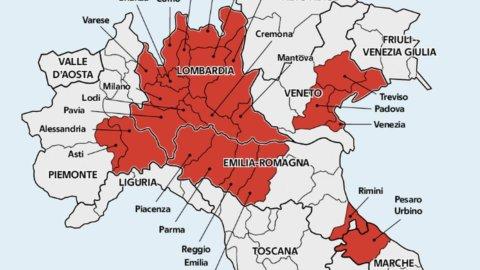 Lombardia Cartina Province.Chiuse Lombardia E 14 Province Ecco Quali Zingaretti Positivo Al Test Firstonline