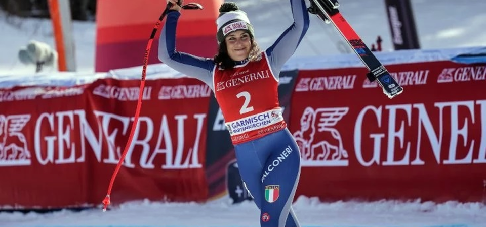 Brignone, campionessa nello sci e nella vita: Banca Generali sponsor da 10 anni
