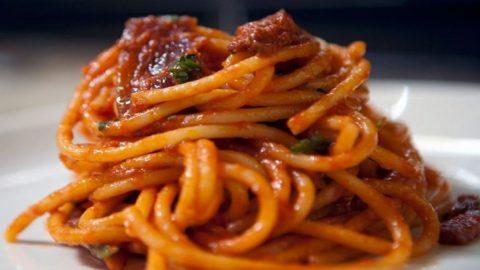 L'Amatriciana è patrimonio gastronomico europeo